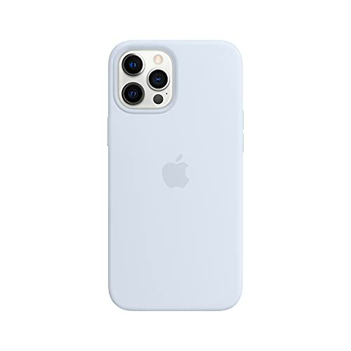 Apple Silicone Case with MagSafe (for iPhone 12 Pro Max) - Cloud Blue