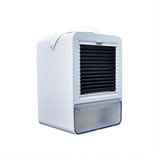 DAIJIOBU Powerful Cooling Fan Portable Water Cooling Fan Home Air Conditioner USB Charging Cooler Fan