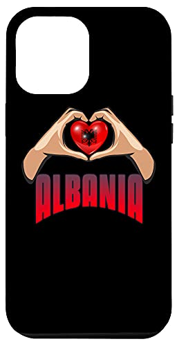 iPhone 12 Pro Max Albania - Land Of The Eagle's Sons - The Heart Of Albanians Case