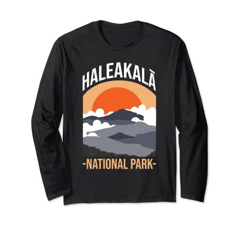 Haleakala US National Park Maui Volcano Hawaii Hawaiian Long Sleeve T-Shirt