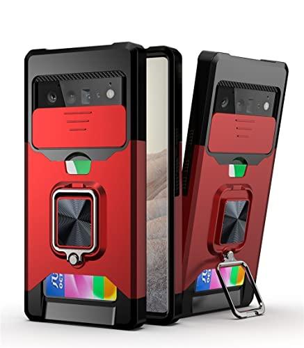 Cover Designed Case for Google Pixel 6 Pro Case for Google Pixel 6 Pro Half-Wrapped Case Full Protective Shockproof Back Cover Capa Fundas