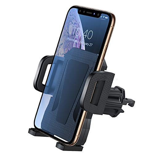 Air Vent Phone Holder for Car,Miracase Universal Vehicle Cell Phone Mount Cradle with Adjustable Clip Compatible with 11 Pro Max/XR/XS Max/XS/X/8/8 Plus/7/7P,Galaxy S10/S10+/S9/Note 9 and More