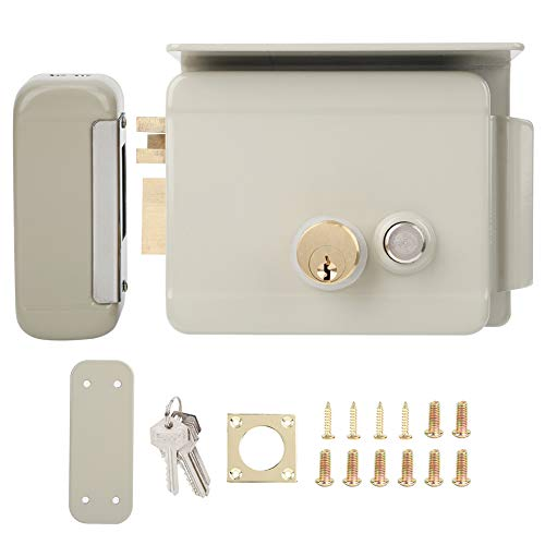 Door Entry Lock, Electric Control Lock, Home Security Lock Smart Integrated Access Control Hotel Buildings for Hostels Schools Factory Warehouses