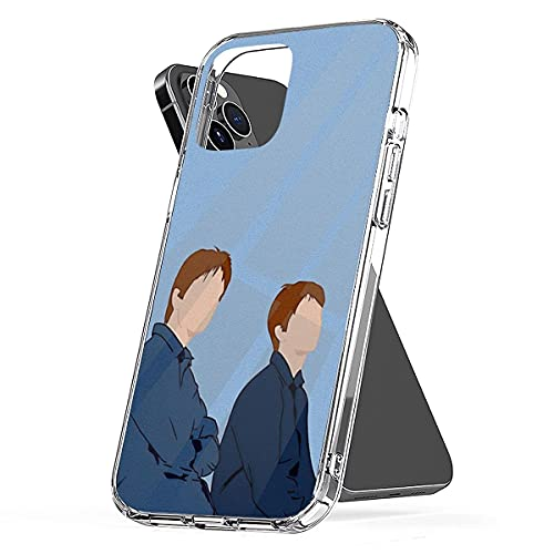 Phone Case Compatible with iPhone Weasley 12 13 11 Twins 6 7 8 Phone Mini Pro Max XR X/Xs Max Anti-Scratch Shock