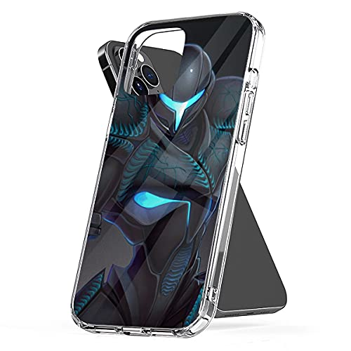 Phone Case Dark Shockproof Samus Funny Aesthetic Cover Compatible with iPhone 13 12 11 X Xs Xr 8 7 6 6s Plus Mini Pro Max Samsung Galaxy Note S9 S10 S20 Ultra Plus