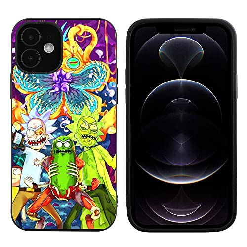 iPhone Case, Shockproof Fashion Special Protective Cover Classic Shell TPU Material,Compatible with iPhone 12 Mini-5.4 (Purple)